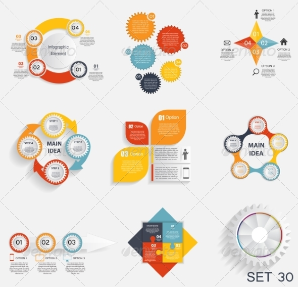 GraphicRiver Collection of Infographic Templates for Business 7575919