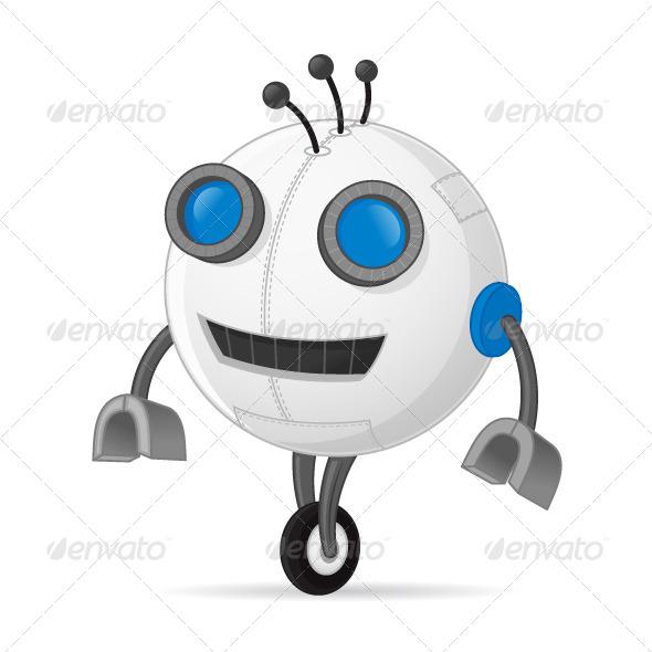 GraphicRiver Robot 7575952