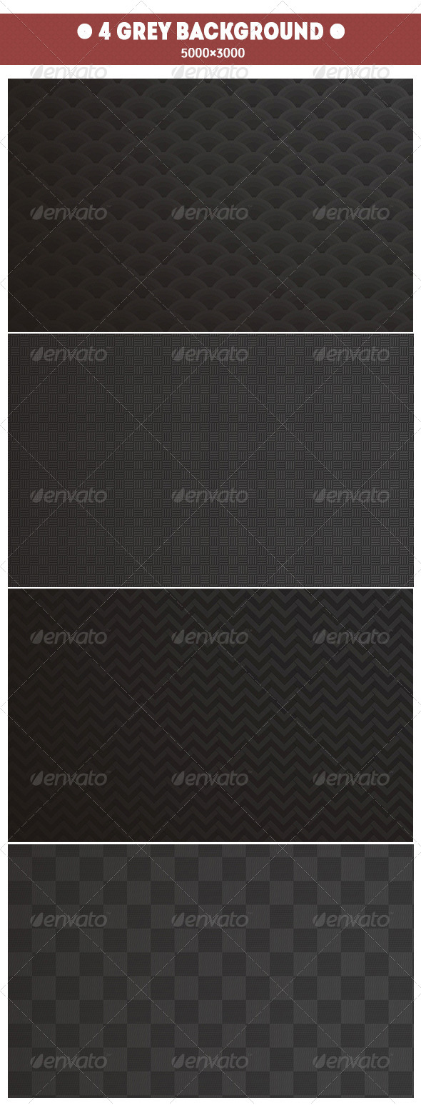 GraphicRiver 4 Grey Backgrounds 7575953