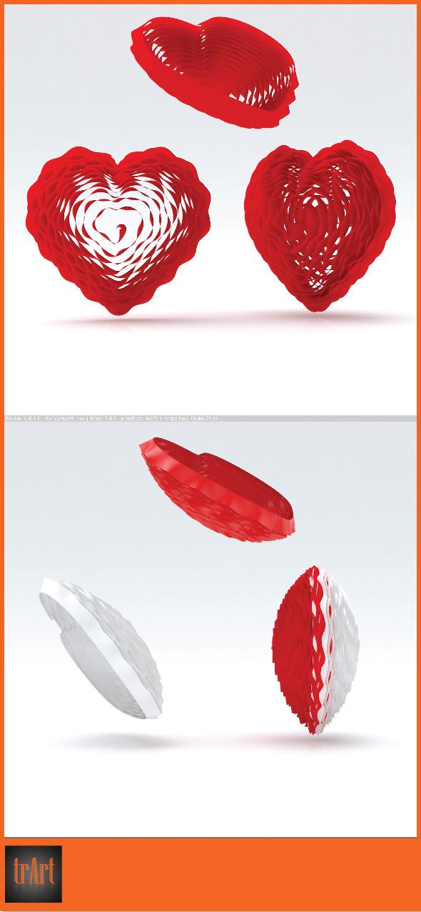3DOcean Heart 3d 7575977