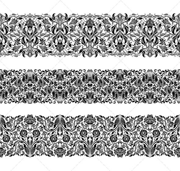 GraphicRiver Horizontal Elements Decoration 7576027