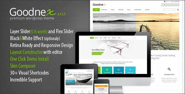 Goodnex Premium Responsive WordPress Theme