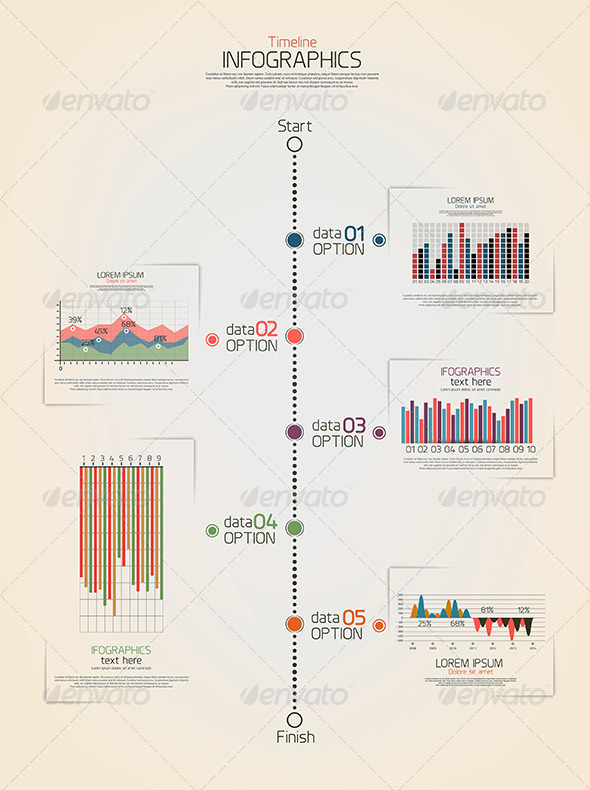 GraphicRiver Timeline infographics 7510456