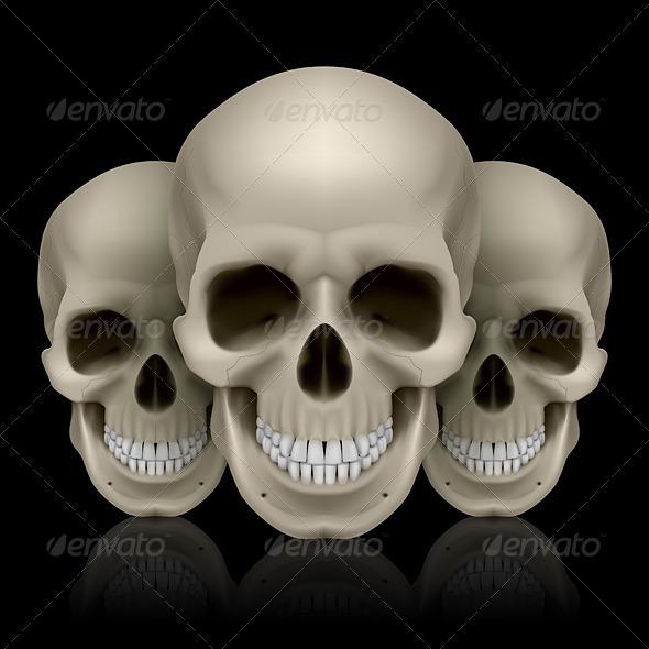 GraphicRiver Three Skulls 7576212