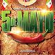 5 de Mayo a Mexican Party Flyer Template - GraphicRiver Item for Sale