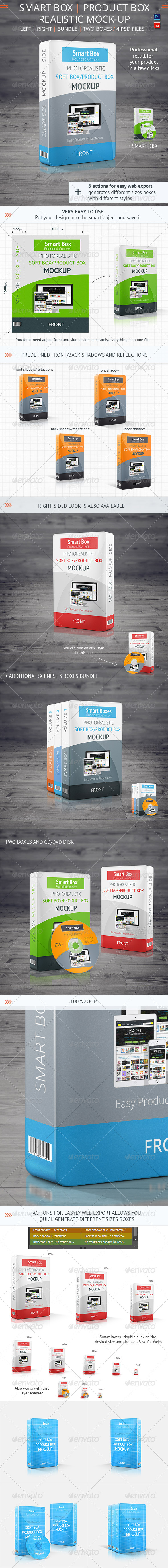 GraphicRiver Realistic Smart Box Product Mock-Up Vol.2 7576453
