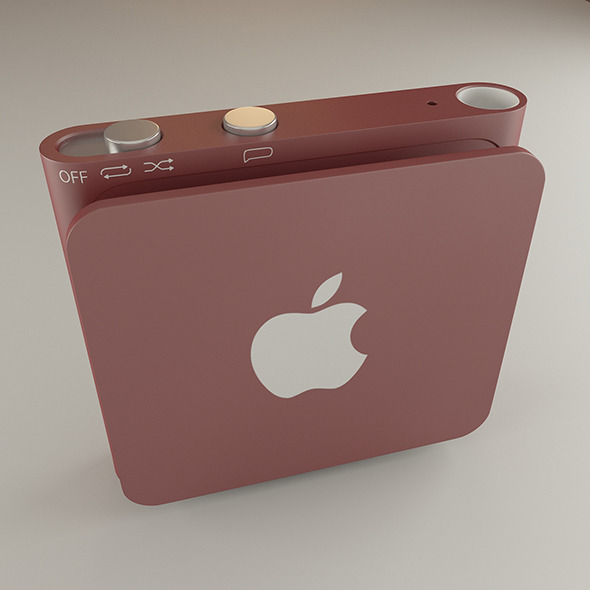 Ipod shuffle - 3DOcean Item for Sale