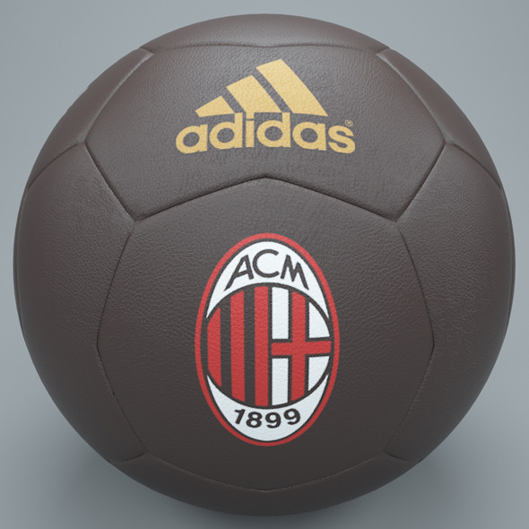 3DOcean Brown ac milan football 7576508