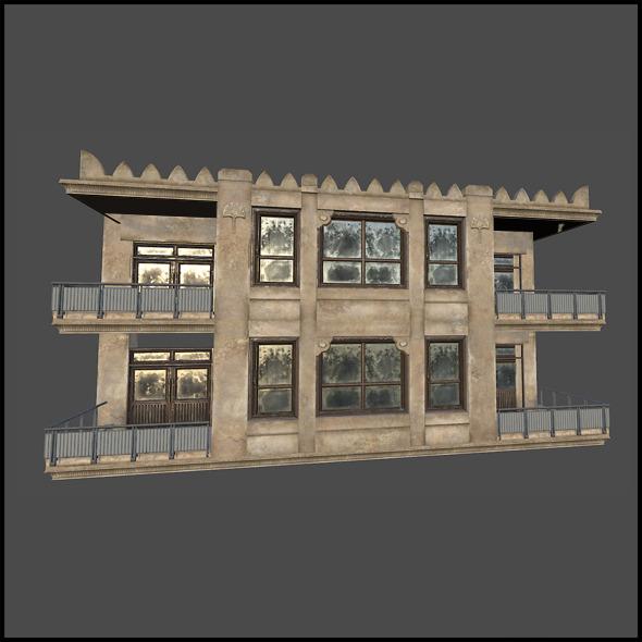 Residental Apartment Block - 3DOcean Item for Sale