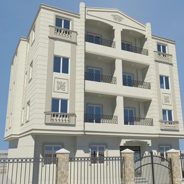 3DOcean classic villa 7576690