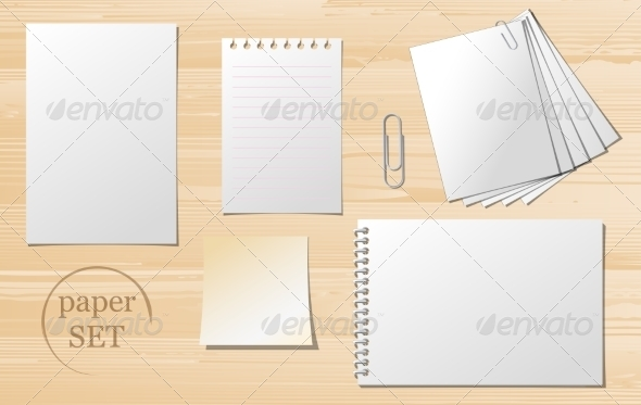 GraphicRiver Paper Sheets 7576689