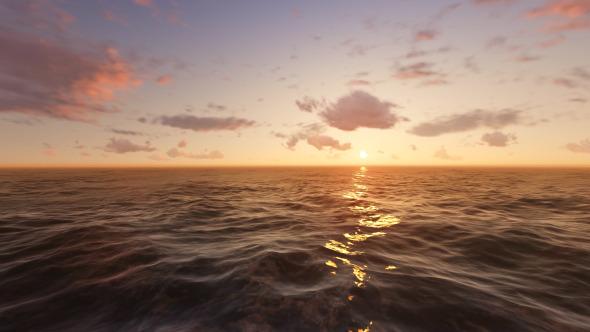 Endless Ocean Sunset