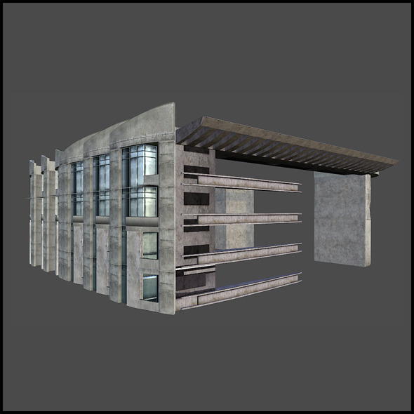3DOcean Sawtooth Building Block 7576715