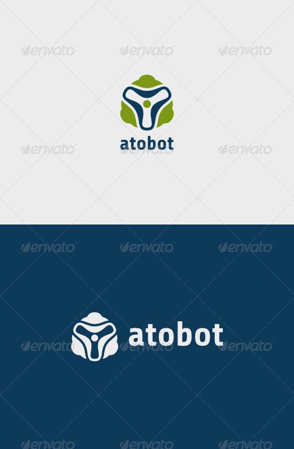 GraphicRiver Atobot Logo 7576723