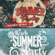 Vintage Summer Party Facebook Cover - GraphicRiver Item for Sale