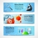 Science Realistic Banners - GraphicRiver Item for Sale