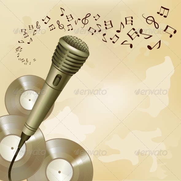 GraphicRiver Music Background 7576982