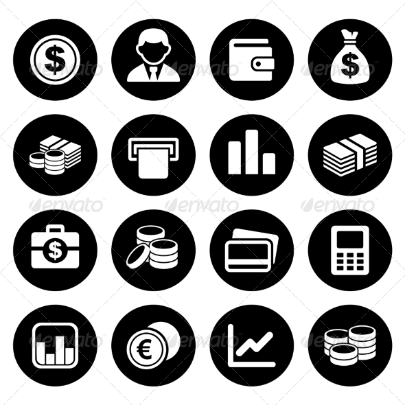 GraphicRiver Money Icon Set 7577048