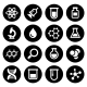 Chemical Icons Set - GraphicRiver Item for Sale