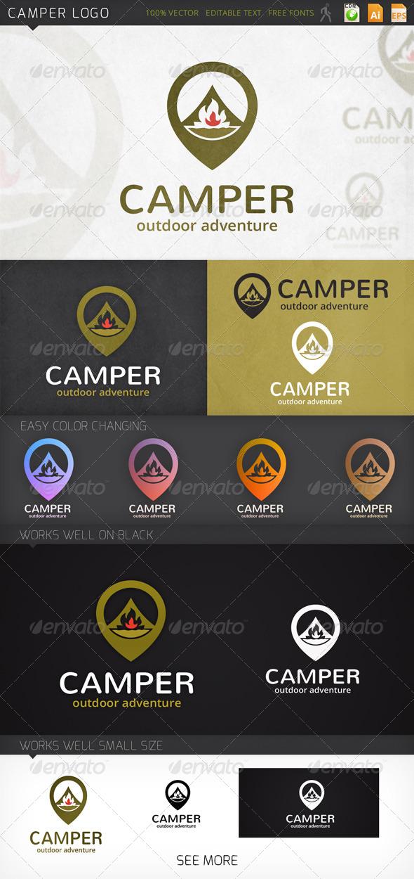 GraphicRiver Camper Logo 7577505