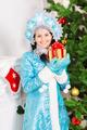 Smiling snow maiden - PhotoDune Item for Sale