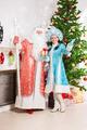 Santa claus and snow maiden - PhotoDune Item for Sale