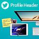 Twitter Profile Header V1 - GraphicRiver Item for Sale
