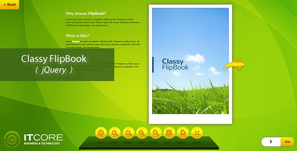Classy FlipBook -jQuery - CodeCanyon Item for Sale