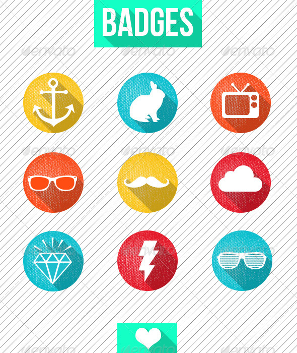 GraphicRiver Badge Icons 7580643