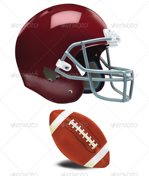 GraphicRiver American Football Helmet 7580816