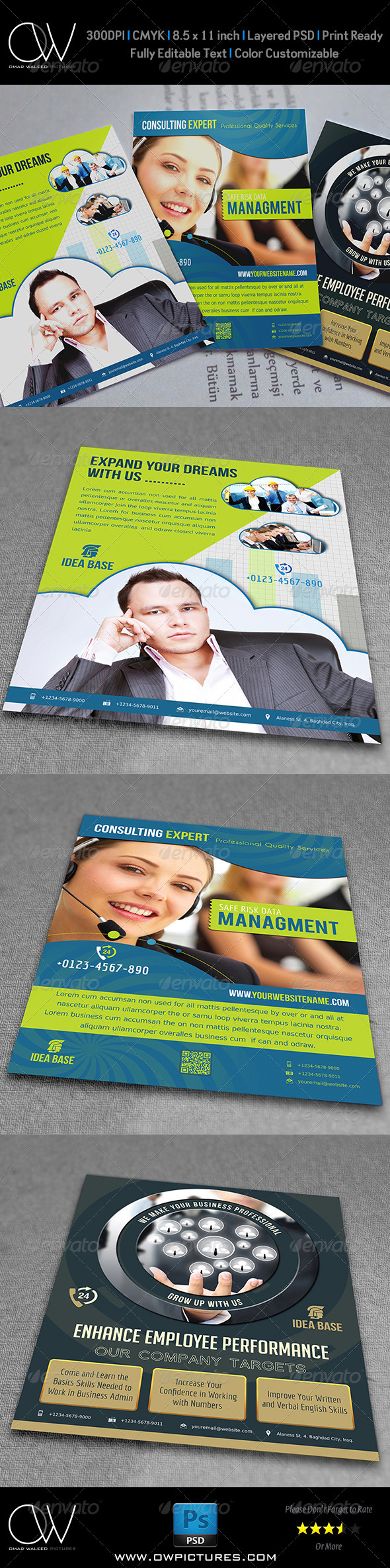 GraphicRiver Corporate Flyer Bundle Template Vo.1 7580823