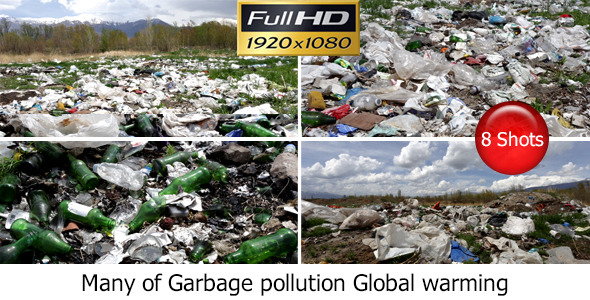 Many of Garbage Pollution Global Warming