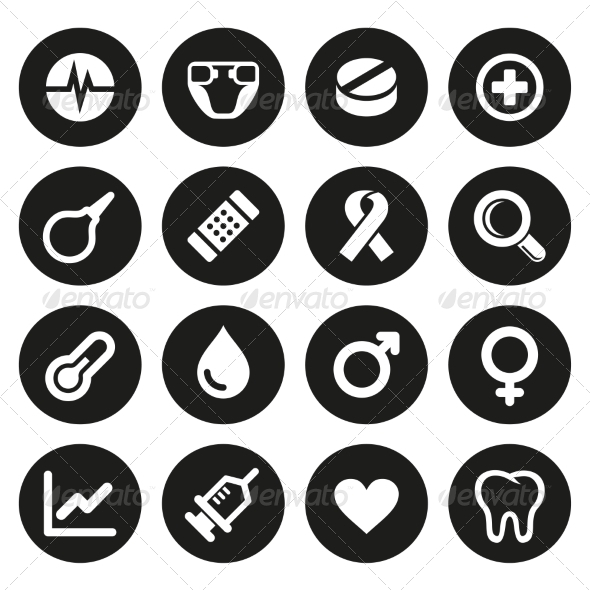 GraphicRiver Medical Icons Set 2 7580887