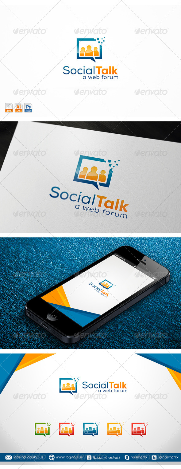 GraphicRiver Social Talk 7581005