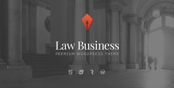 LawBusiness - Attorney & Lawyer WordPress Theme