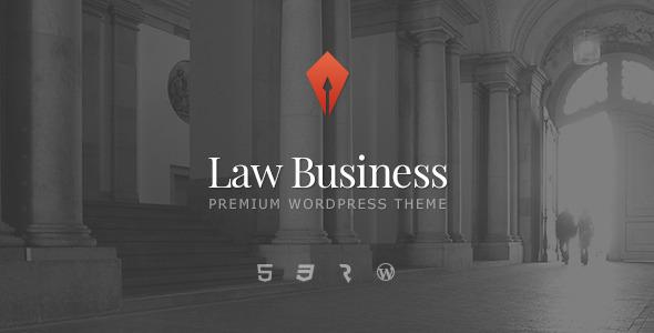 ThemeForest LawBusiness Attorney & Lawyer WordPress Theme 7581460