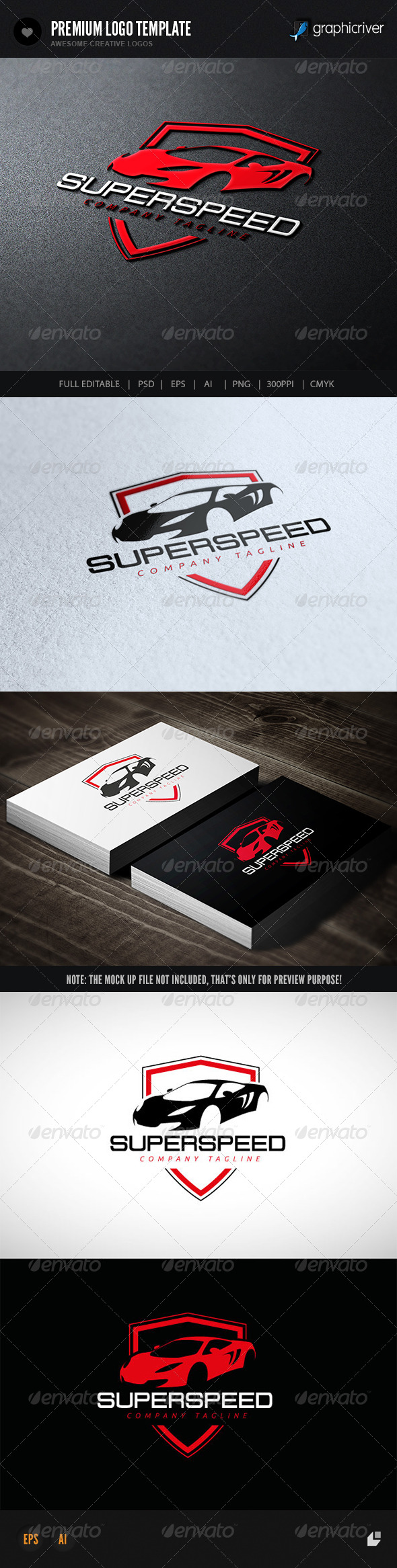GraphicRiver Super Speed 7581474
