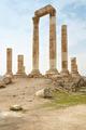 Temple of hercules on the Amman citadel, Jordan - PhotoDune Item for Sale
