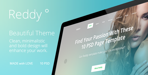 Reddy PSD template