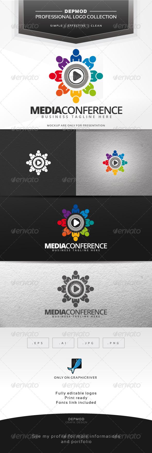 GraphicRiver Media Conference Logo 7581773