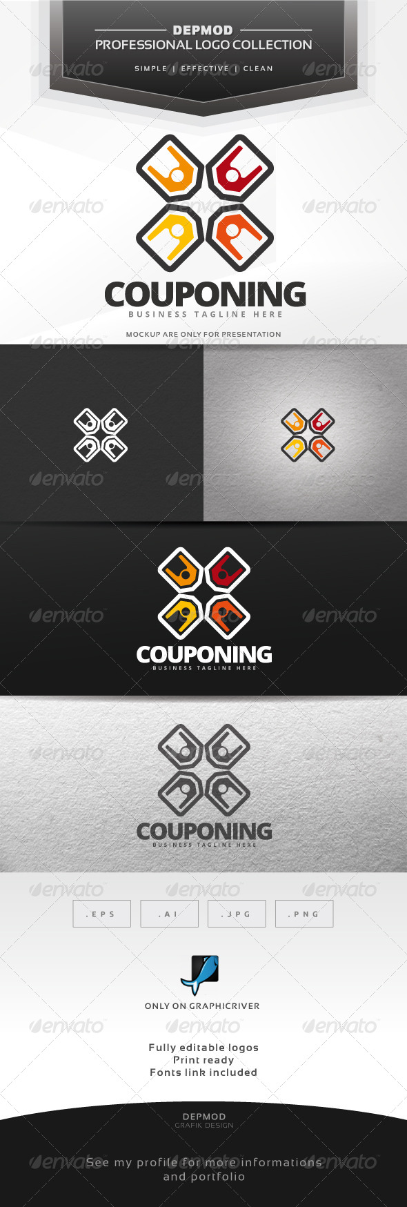 GraphicRiver Couponing Logo 7582141