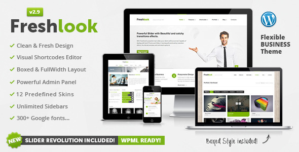 Freshlook - Responsive Multi-Purpose WP Theme