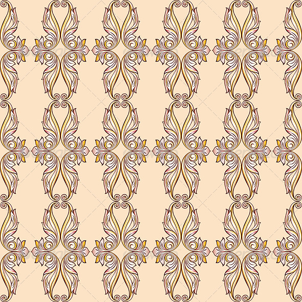 GraphicRiver Seamless Floral Pattern 7582737