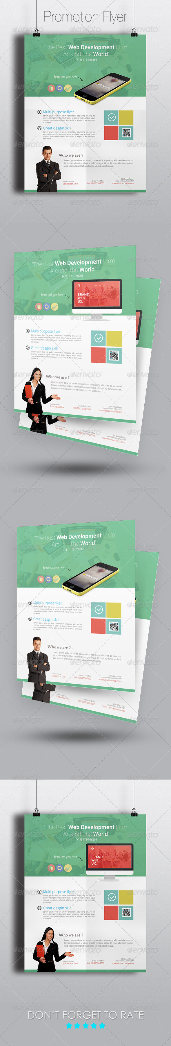 GraphicRiver Smart App Promotion Flyer Template 7582814