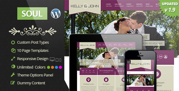 WordPress Wedding Themes & Templates