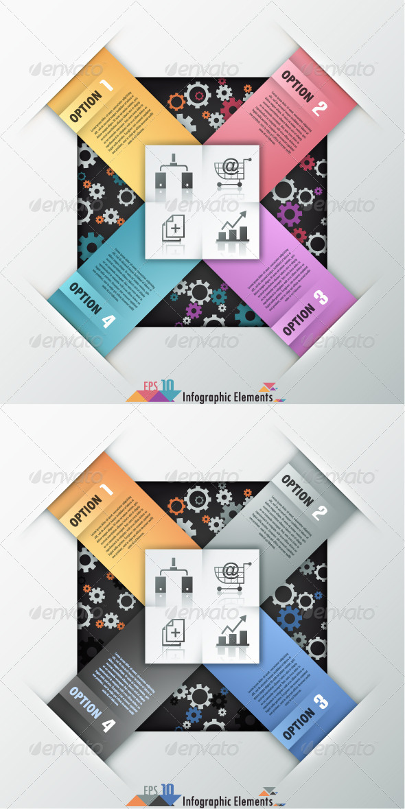 GraphicRiver Modern Infographic Options Banner Two Versions 7582910