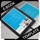 E-Book Template - PSD - GraphicRiver Item for Sale
