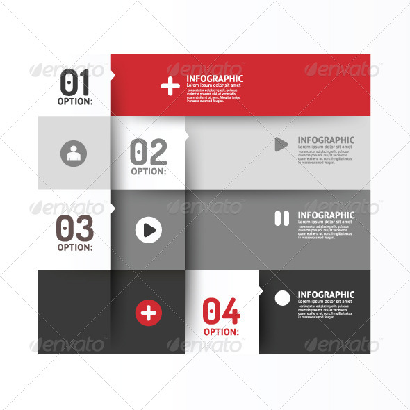 GraphicRiver Number Banners Modern Design Template 7584720