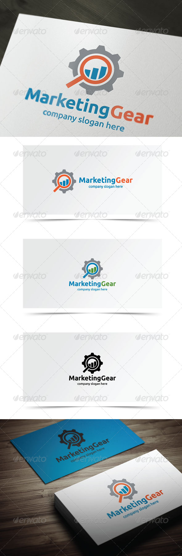 GraphicRiver Marketing Gear 7584723