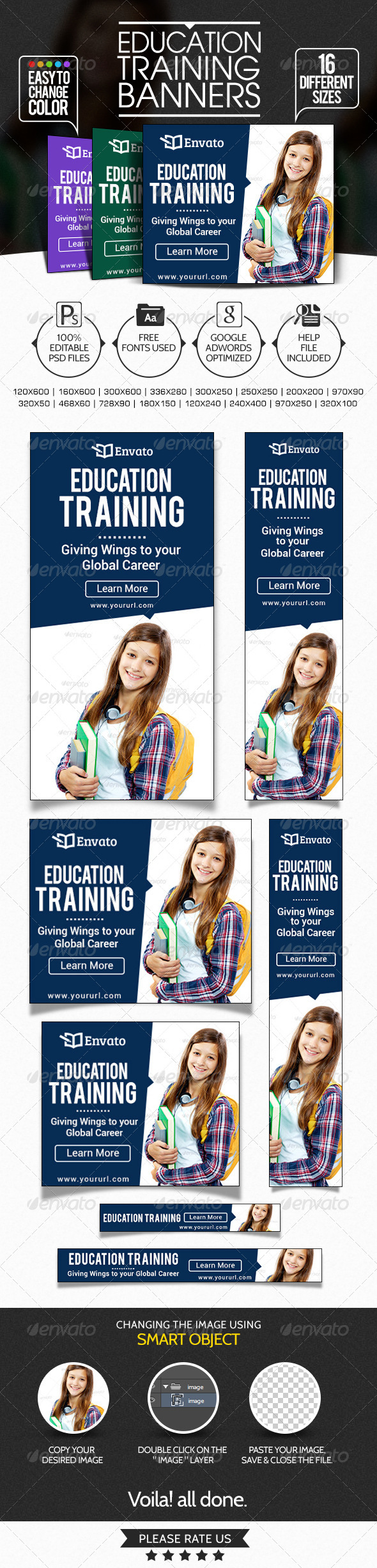 GraphicRiver Banners for Education Institute 7577029